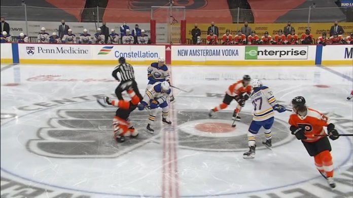 Scott Laughton Philadelphia Flyers / Pallomeri.net
