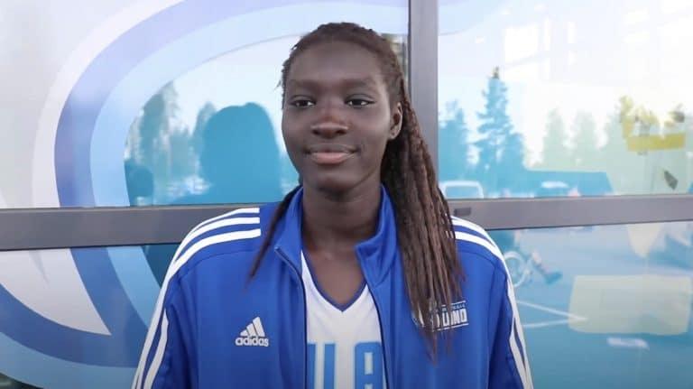Huimaa historiaa! Suomalainen Awak Kuier varattiin naisten NBA:han numerolla kaksi
