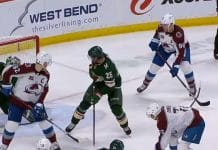 Mikko Rantanen Gabriel Landeskog Joonas Donskoi Colorado NHL Minnesota - pallomeri.net