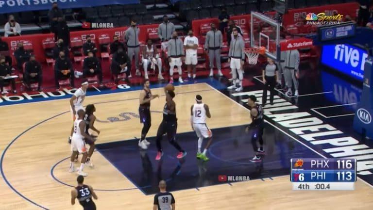 Video: Toisesta päästä lähtenyt viimeisen sekunnin tasoitus oli uskomattoman lähellä NBA:ssa