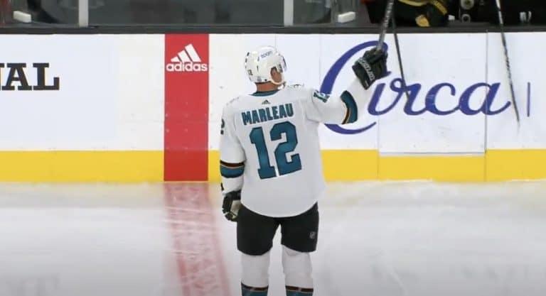 Video: Rikkomattomana pidetty NHL-ennätys meni rikki – Patrick Marleau ohitti Gordie Howen