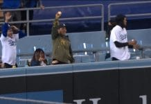 Los Angeles Dodgers -fani saa kunnarin nachoihinsa / Pallomeri.net