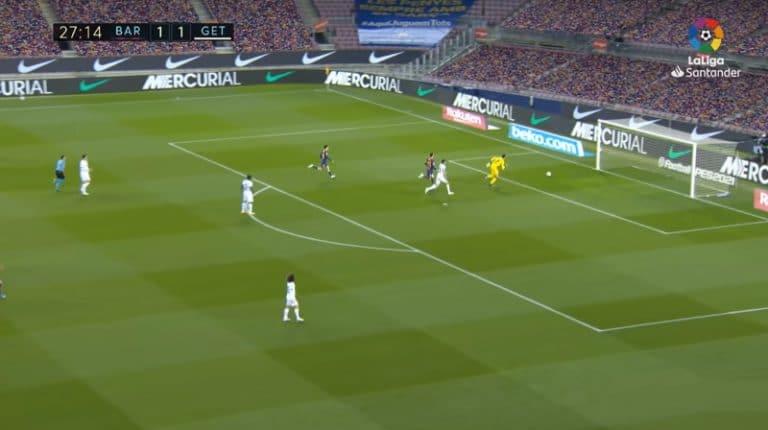 Video: Uskomaton hasardi La Ligassa – Getafe-pakki painoi pallon suoraan omiin