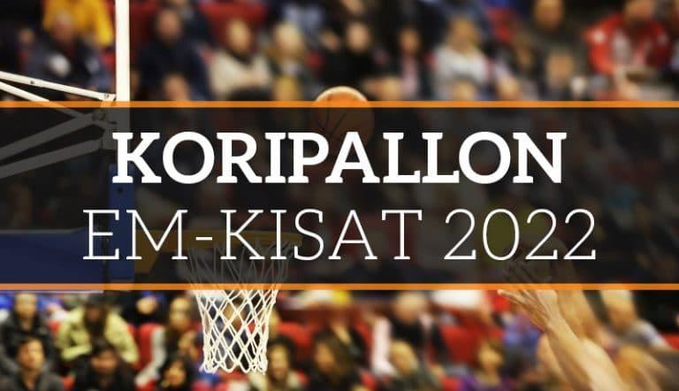 Koripallon EM 2022: Susijengi arvottiin kovaan lohkoon