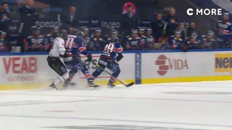 Video: Ilari Melart maksoi kovan hinnan taklauksestaan – SHL lätkäisi viiden ottelun pelikiellon