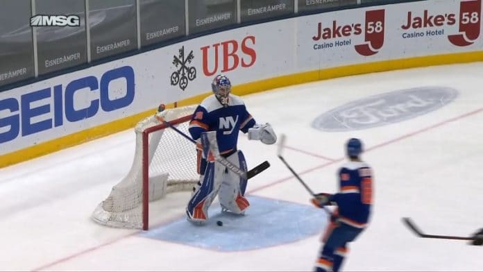 Ilya Sorokin New York Islanders / Pallomeri.net