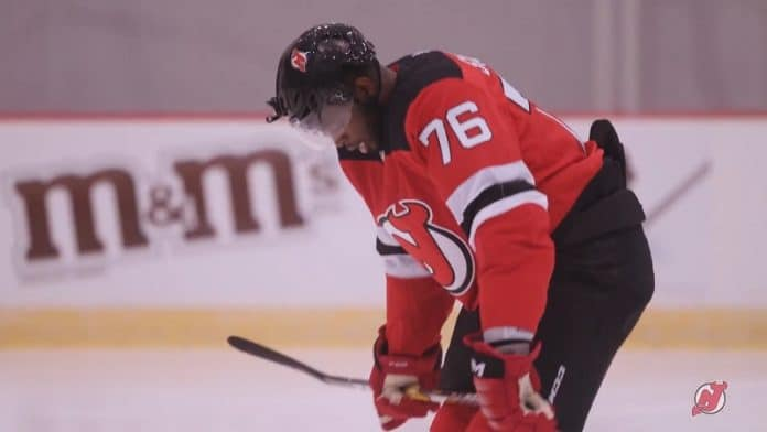 P.K. Subban New Jersey Devils / Pallomeri.net