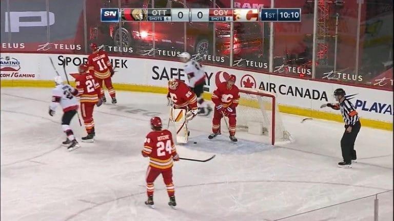 Juuso Välimäki teki jatkosopimuksen Calgary Flamesin kanssa