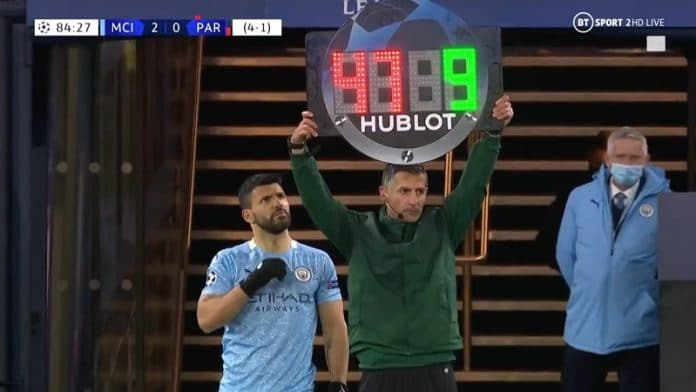 Sergio Agüero Manchester City / Pallomeri.net