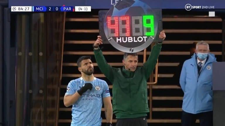 Video: Tuomari mokasi Mestarien liigassa – Sergio Agüero reagoi koomisesti ja korjasi tilanteen