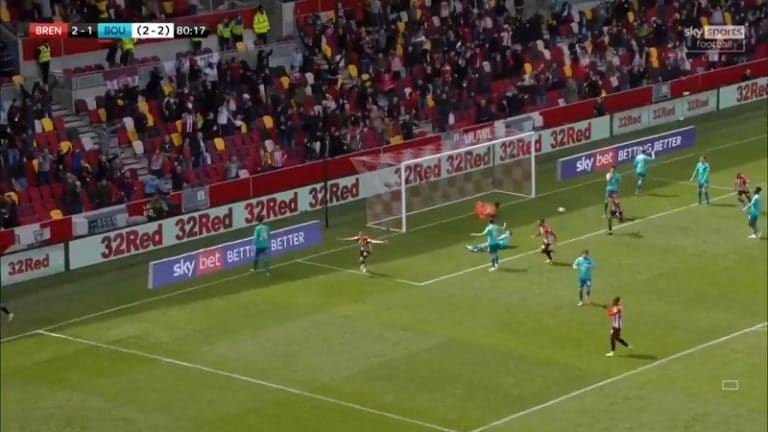 Video: Marcus Forss tuikkasi massiivisen maalin – Brentford pelaa noususta Valioliigaan