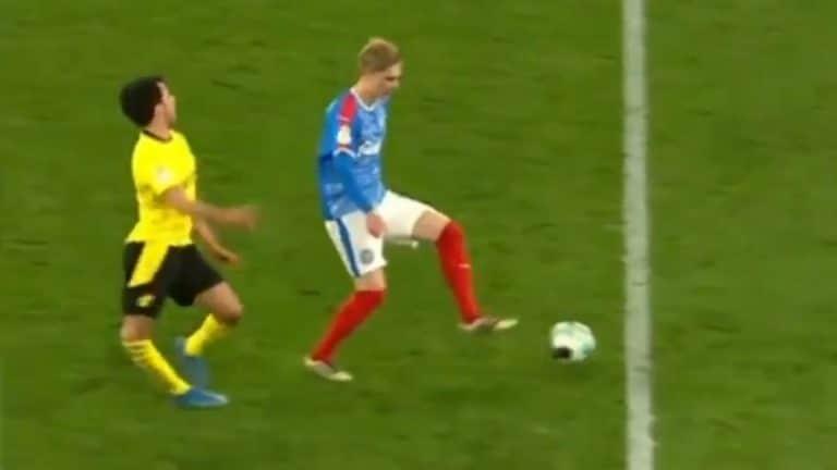 Video: Dortmund-pakki loukkaantui karmaisevasti – jalka taittui rumasti aivan luonnottomaan asentoon