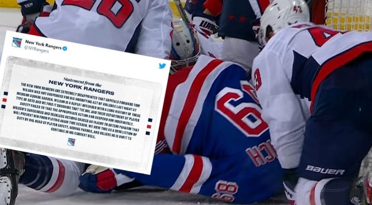 """NY Rangers julkaisi poikkeuksellisen tiedotteen – seura vaatii kurinpitäjän eroa: """"Kauhistuttavaa väkivaltaa"""""""