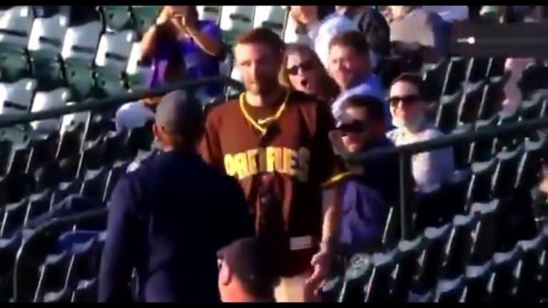 Video: Jäätävä yhden iskun tyrmäys MLB-katsomossa – Padres-fani veti Rockies-fanin kylmäksi