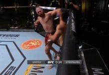 Jiri Prochazka tyrmäys UFC / Pallomeri.net