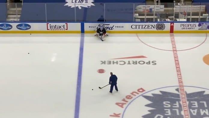 David Rittich Toronto Maple Leafs / Pallomeri.net