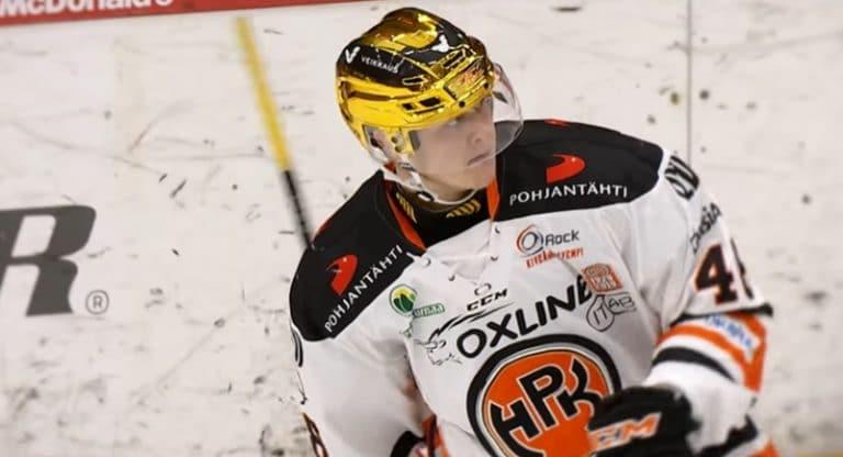 Valtteri Puustinen teki NHL-tulokassopimuksen Pittsburgh Penguinsin kanssa