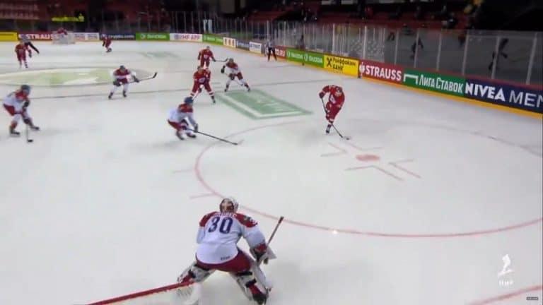 Video: Tshekki tasoitti kunnon tuurimaalilla – Venäjä kuittasi voiton dramaattisesti 19 sekuntia ennen loppua