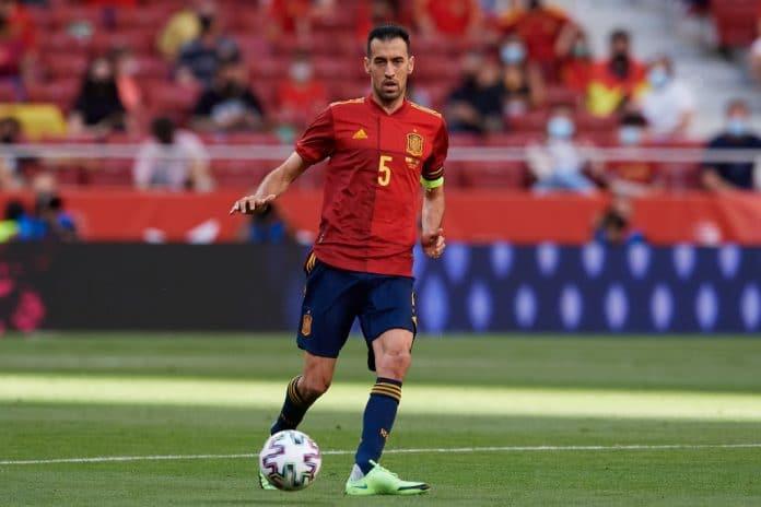 Espanja Espanjan Sergio Busquets