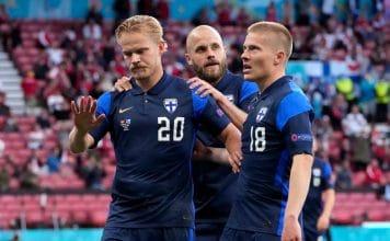 Ranska Suomi Huuhkajien joukkue Uefa EM-kisojen Suomi Huuhkajat Joel Pohjanpalo