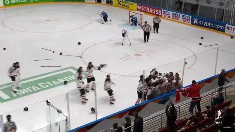 Video: Leijonille valtava pettymys – Kanada vei MM-kullan jatkoajalla