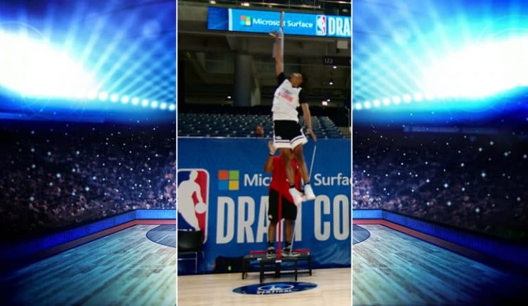 Video: NBA-lupausten testeissä nähtiin historian kovin pompputulos