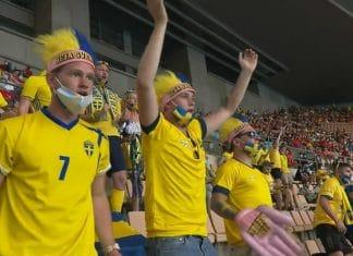Ruotsin fanit em-kisoissa - pallomeri.net