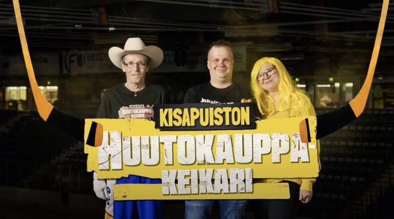 """Video: SaiPa julkaisi uuden pelaajan uskomattomalla tavalla – """"Kisapuiston Huutokauppakeikari"""""""