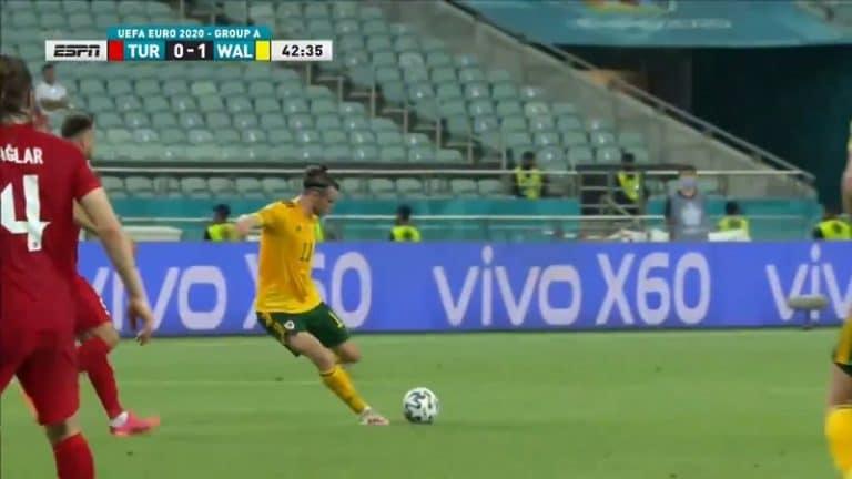 Video: Maaginen syöttö – Gareth Bale alusti Walesin avausmaalin häikäisevällä tavalla