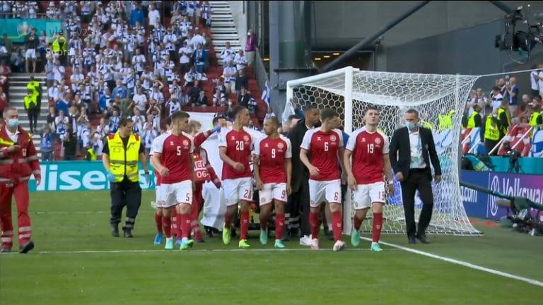 Tv-kuvat Christian Eriksenin elvytyksestä järkyttivät katsojia – UEFA ja ohjaaja eivät ota mitään vastuuta