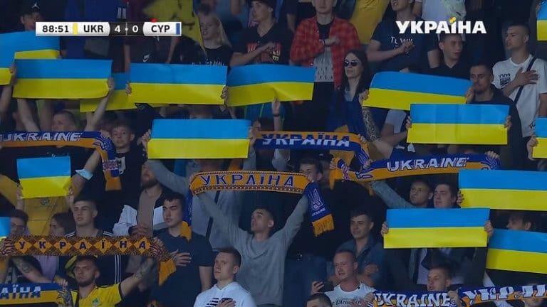 Venäjä kanteli Ukrainan pelipaidoista UEFA:lle – liitto taipui vaatimuksiin osittain, paitaa joudutaan muuttamaan