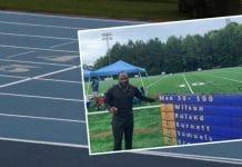 Alex Wilson euroopan ennätys 100m - pallomeri.net