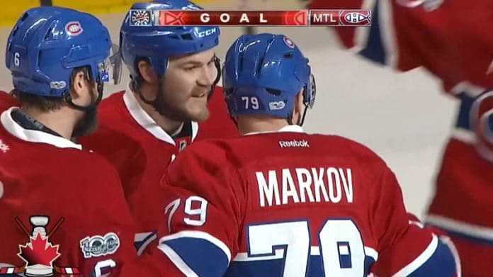 Andrei Markov NHL montreal - pallomeri.net