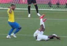 Brasilia Douglas Luiz punainen kortti - pallomeri.net