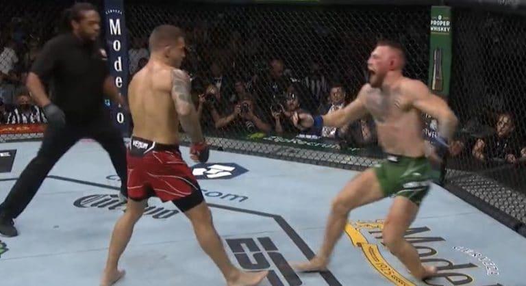 Video: UFC:n huippumatsi päättyi tylysti – Conor McGregor taittoi jalkansa karmealla tavalla
