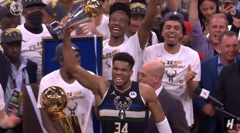 Video: Giannis Antetokounmpo järjesti huiman näytöksen – Milwaukee Bucks NBA-mestariksi 50 vuoden tauon jälkeen