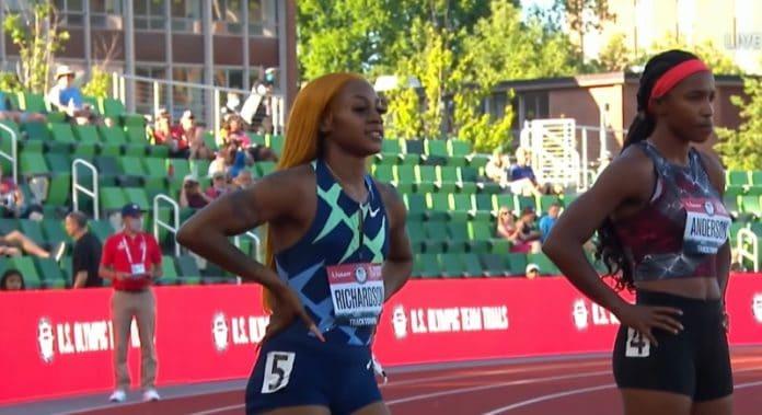 Sha'Carri Richardson 100m - pallomeri.net