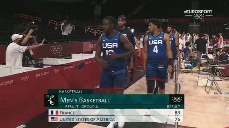 Video: Jättiyllätys olympiakoripallossa – Ranska katkaisi USA:n lähes 20-vuotisen voittoputken