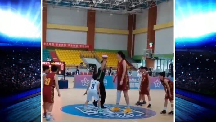 Zhang Ziyu dominoi koripalloturnauksessa - pallomeri.net