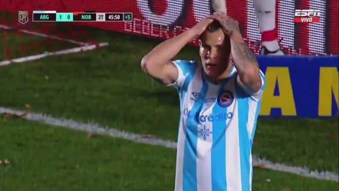 Argentinos Juniorsin Nicolas Reniero / Pallomeri.net