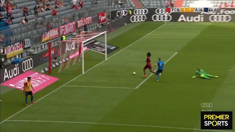 Video: Bayern-peluri jäätyi pahasti avopaikassa – Ajax-pakki teki fantastisen ryöstön viime hetkellä