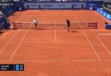 benoit paire stoppari pysäytyslyönti tennis atp - pallomeri.net