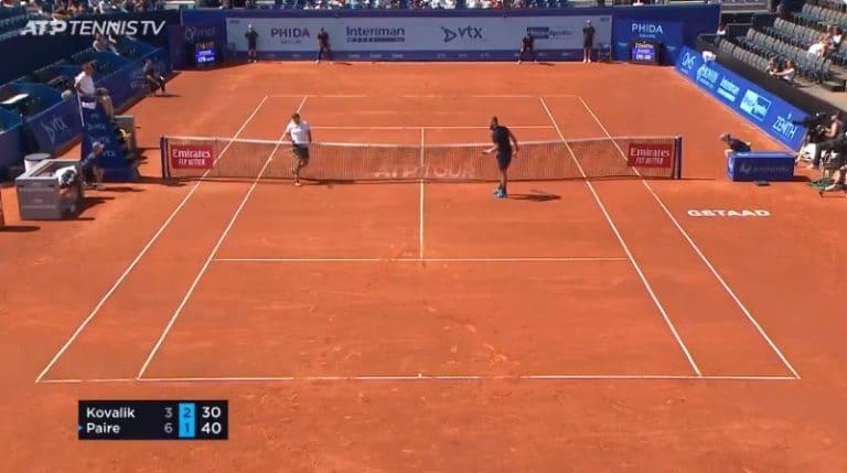Video: Benoit Paire esitteli uskomattoman stopparin ATP-turnauksessa