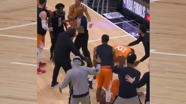 Video: Raukkamainen temppu toi ulosajon NBA:n playoffeissa – Clippers-pelaaja hyökkäsi härskisti selän puolelta
