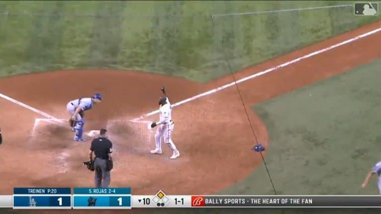 Video: LA Dodgers sössi huolella – jäätävä virheiden sarja toi vastustajalle voittojuoksun