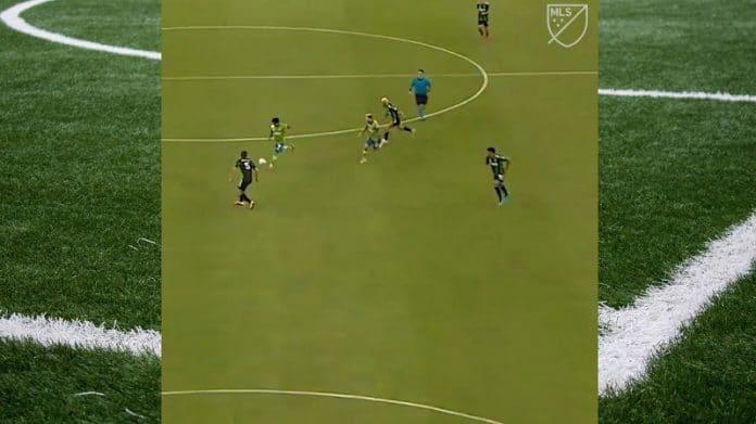 Raul Ruidiaz Seattle Sounders MLS / Pallomeri.net