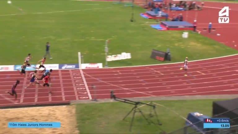 Video: Aivan mielipuolinen juoksu – Sasha Zhoya paineli täysin ylivoimaiseen voittoon Ranskan U20-kisoissa