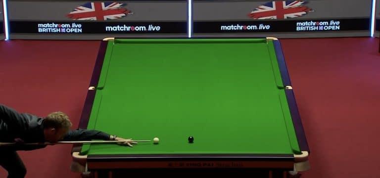 Video: Ali Carter painoi tällä kertaa maksimibreikin British Openissa