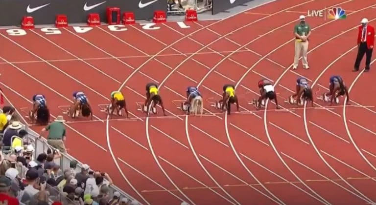 Video: Elaine Thompson-Herah tykitti historian toiseksi nopeimman ajan 100 metrillä