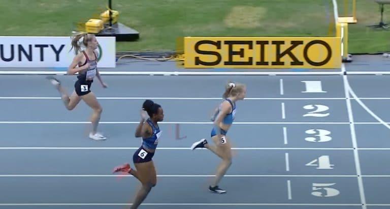 Video: Heidi Salminen voitti historiallisen maailmanmestaruuden 400 metrin aidoissa